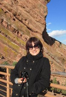 Grace in Red Rocks, Colorado.